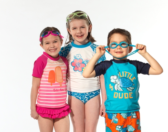These adorable kids from The Model Club are ready for the beach!